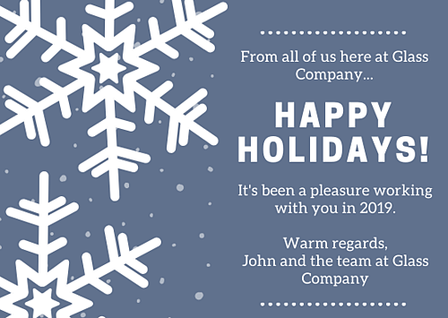 From all of us here at Glass Company 2019(1)
