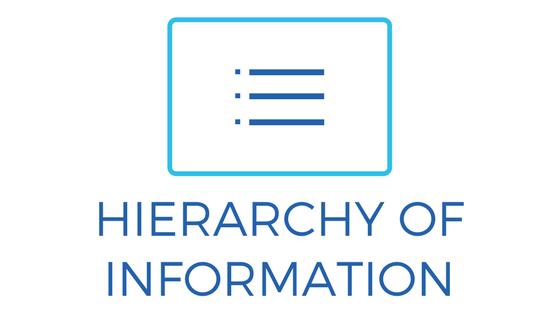 hierarchy-of-information